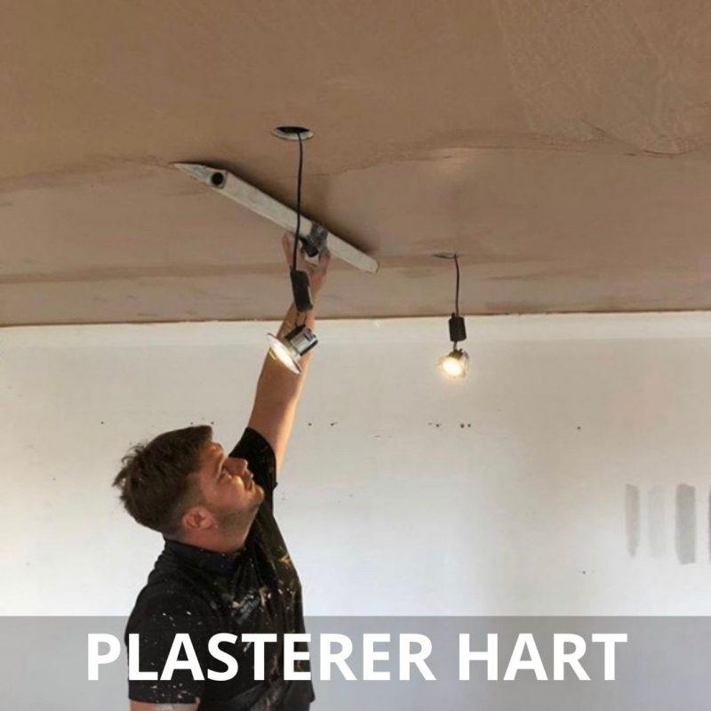 cheap plasterer hart