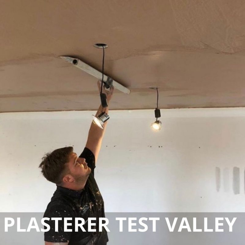 plastering test valley